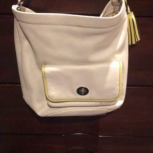 Coach bucket purse